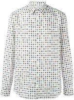 Alexander McQueen badge print shirt - men - Cotton - 40