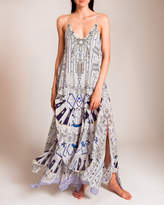 Camilla Singing Wells Multi Layer Long Dress