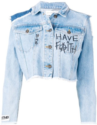 Faith Connexion cropped jacket