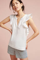 Hd In Paris Ruffled Poplin Blouse