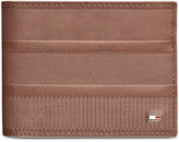 Tommy Hilfiger Men's Leather Reed Passcase