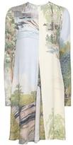 Stella McCartney Sia Printed Crêpe Dress