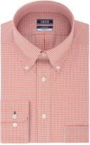 Izod Men's Regular-Fit Wrinkle-Free Stretch Button-Down Collar Dress Shirt