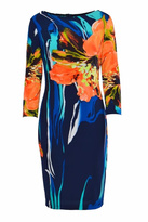 Joseph Ribkoff Colorful Print Dress