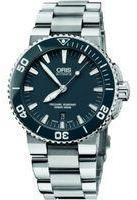 Oris Mens Aquis Date Automatic Watch 01733765341550782601PEB