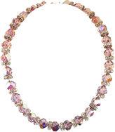 One Kings Lane Vintage Lavender Crystal Necklace