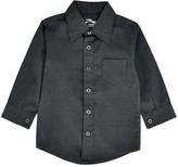 Couture Littlest Prince Boys' Button Down Shirts - Black Button-Up - Infant, Toddler & Boys