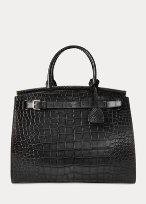 Ralph Lauren Alligator Large RL50 Handbag