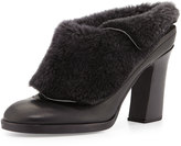 Rag and Bone Rag & Bone Hailey Shearling-Lined Runway Mule