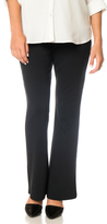 Motherhood Petite Secret Fit Belly Ponte Boot Cut Maternity Pants