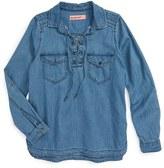 Blank NYC Girl's Blanknyc Chambray Shirt