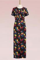 Diane von Furstenberg Silk flowers print Jumpsuit