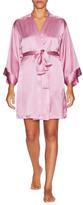 Josie Natori Lolita Silk Wrap Robe