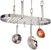 Enclume 4-Point Oval Rack with Grid in Stainless Steel Finish