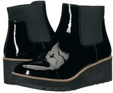 Eileen Fisher Chelsea (Black Patent Leather) Women's Pull-on Boots