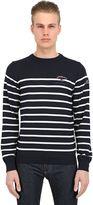 "Paul & Shark ""Admiral's"" Striped Wool Sweater"