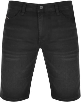 Diesel Thoshort Denim Shorts Black