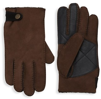 UGG Slim-Fit Sheepkin Gloves