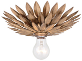 Crystorama Broche 1-Light Flush Mount