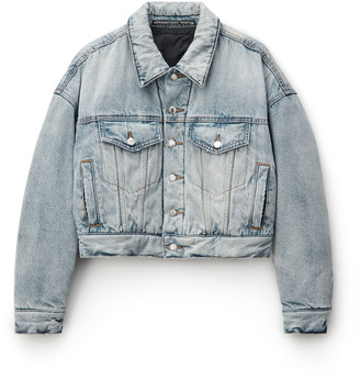 Denim Padded Trucker Jacket