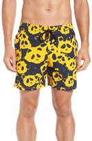 Vilebrequin Men's Panda Print Swim Trunks