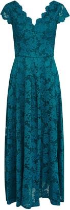 Wallis **Jolie Moi Dark Teal Lace Maxi Dress