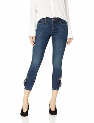 Vintage America Blues Women's Petite Wonderland Skinny Ankle Jean
