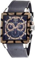 Edox Men's 10013 357RN NIR Chronograph Big Date Classe Royale Watch