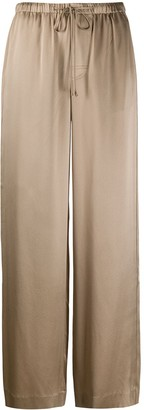 Vince Drawstring Wide Leg Trousers