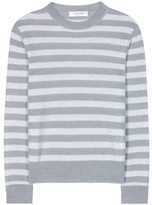Valentino Striped mohair and wool-blend sweater