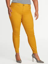 Old Navy Smooth & Slim High-Rise Plus-Size Sateen Rockstar Jeans