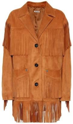 Miu Miu Suede jacket