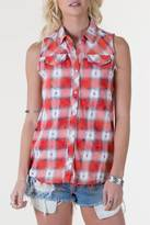 White Crow Dylan Flannel Top