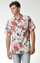 Modern Amusement Wezen Floral Short Sleeve Button Up Shirt