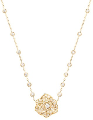 Piaget Rose 18K Rose Gold & Diamond Pendant Necklace