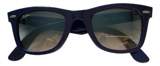 Ray-Ban Original Wayfarer Blue Plastic Sunglasses