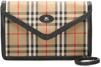 Burberry Pre-Owned House Check Clutch Bag