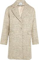 Iris & Ink Cassie tweed cocoon coat
