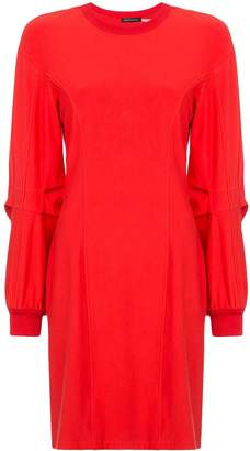 Josie Natori long-sleeve shift dress