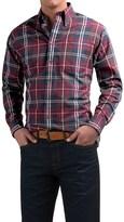 Viyella Plaid Sport Shirt - Cotton-Wool, Long Sleeve (For Men)
