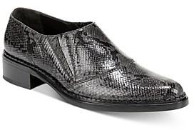 Vince Women's Delmar Snake Print Loafers