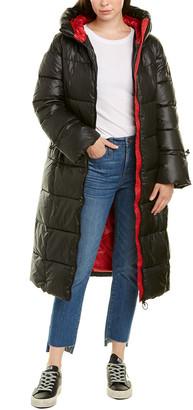 Noize Katy Long Puffer Coat