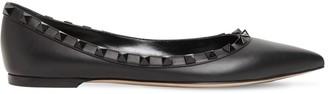 Valentino 10mm Rockstud Leather Flats
