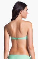 Roxy 'Surf Essentials' Fringe Bandeau Bikini Top