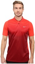 Tiger Woods Golf Apparel by Nike Nike Vl Max Sphere Print Polo