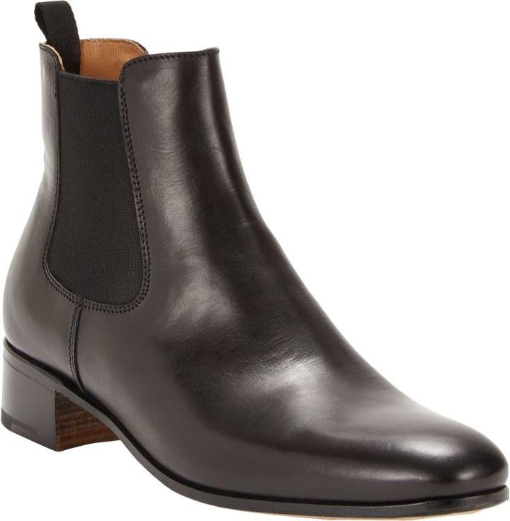 Prada Pull-On Ankle Boots-Black