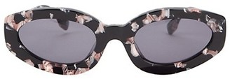 Le Specs Luxe Meteor 53MM Angular Cat Eye Sunglasses