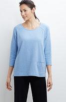 J. Jill Pure Jill Raglan-Sleeve Sweatshirt