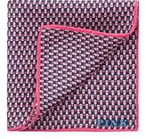 Thomas Pink Owl Print Pocket Square
