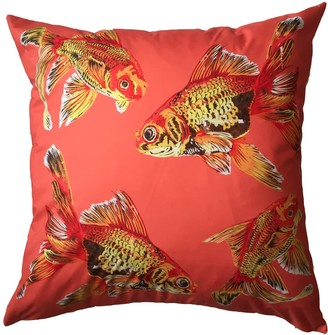 Chloe Croft London Limited Godlfish Gaggle Weatherproof Cushion